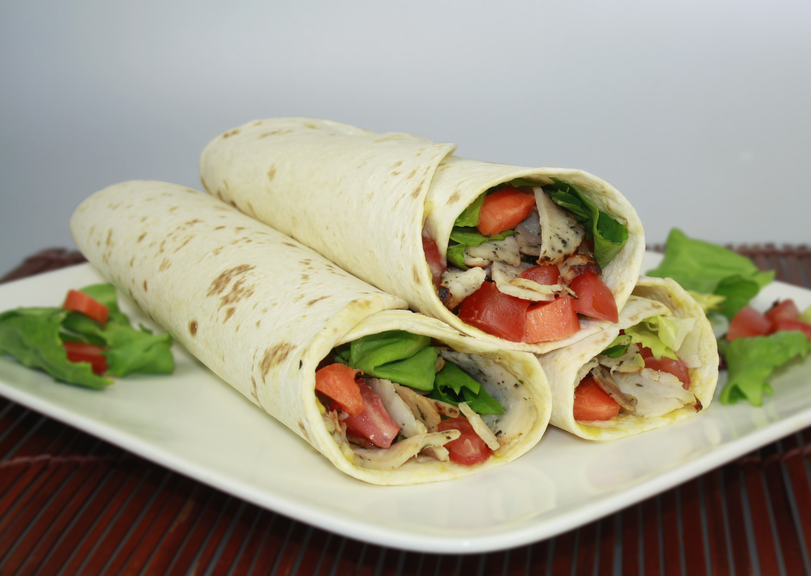 wraps poulet crudites hd-min